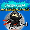 Sticky Ninja Missions Game - Action Games