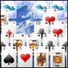 Snowy Peaks Solitaire Game - Arcade Games