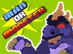 Man or Monster Game - Action Games